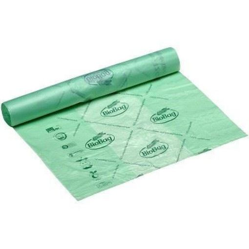 Picture of Compostable Bin Liners / Roll of 40