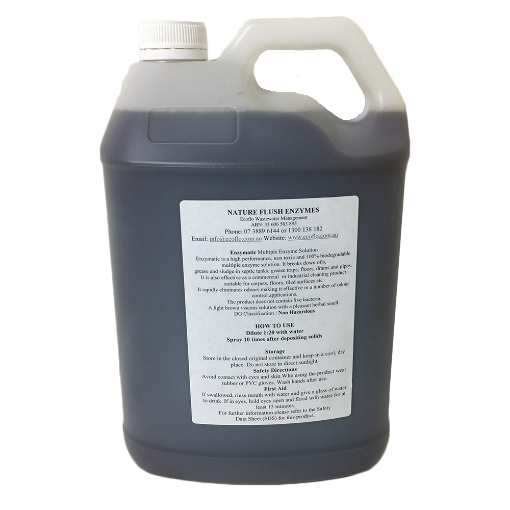 Picture of Nature Flush | Enzymes - Concentrate 5 Litre (Enzymatic)